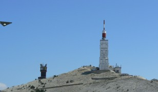 I always suspected that those weird builidings on top of Mont Ventoux were actually alien base camps